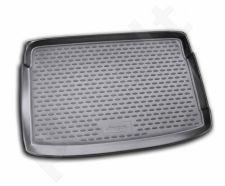 Guminis bagažinės kilimėlis VW Polo hb 2009-> (upper boot) black /N41023