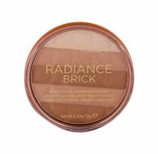 Rimmel London Radiance Brick, bronzantas moterims, 12g, (001 Light)
