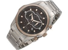 Romanson Sports TM3207HM1JAB6R vyriškas laikrodis-chronometras