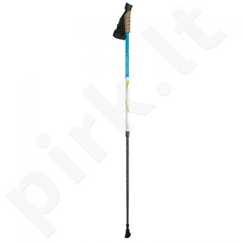 Šiaurietiško ėjimo lazdos Gabel Pro XT balta-mėlyna