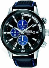 Laikrodis LORUS  STAINLESS STEEL - kvarcinis - 45x45 mm - - chronografasgrafas - TACHYMETER