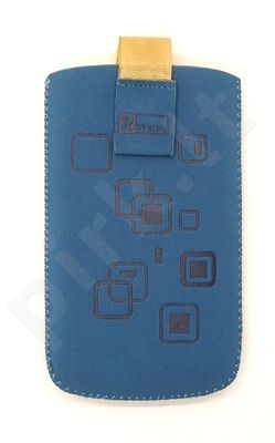 17 MAGNET SQUARE universalus dėklas N5530 Telemax mėlynas zomšas