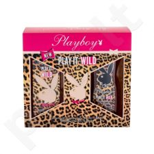 Playboy Play It Wild rinkinys moterims, (EDT 30ml + 250ml dušo želė)