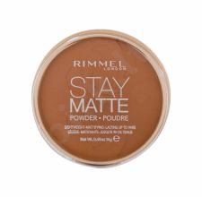 Rimmel London Stay Matte, kompaktinė pudra moterims, 14g, (040 Honey)