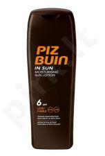 PIZ BUIN Moisturising, SPF6, Sun kūno losjonas moterims, 200ml
