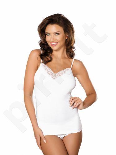 Babell medvilniniai marškinėliai AISHA (baltos spalvos)