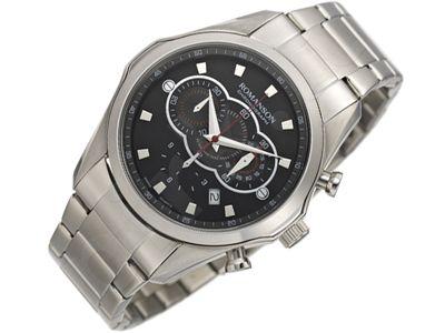 Romanson Sports TM3207HM1WA32W vyriškas laikrodis-chronometras
