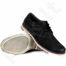 Wishot 31-208-m-bk  odiniai klasikiniai batai