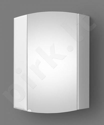 Pakabinama vonios spintelė su veidrodine durele Riva KLV55-1