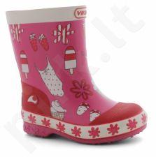 Natūralaus kaukmedžio guminiai batai vaikams VIKING SOL (1-15110-910)