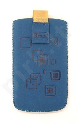 17 MAGNET SQUARE universalus dėklas C3 Telemax mėlynas zomšas