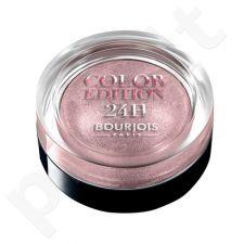 BOURJOIS Paris Color Edition 24H akių šešėliai, kosmetika moterims, 5g, (06 Bleu Ténébreux)[pažeista pakuotė]