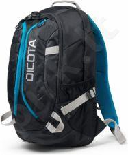 Kuprinė Dicota Backpack Active 14-15,6 juodai mėlyna