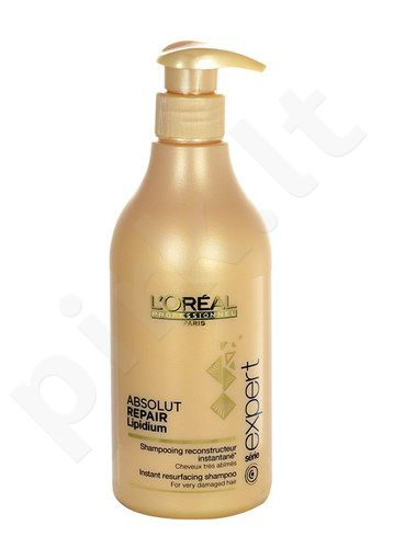 L´Oreal Paris Expert Absolut Repair Lipidium shampunas, kosmetika moterims, 500ml