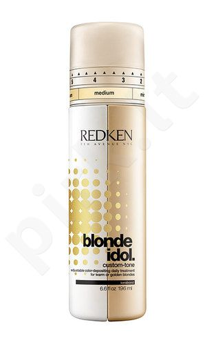 Redken Blonde Idol Custom Tone Gold kondicionierius, kosmetika moterims, 196ml