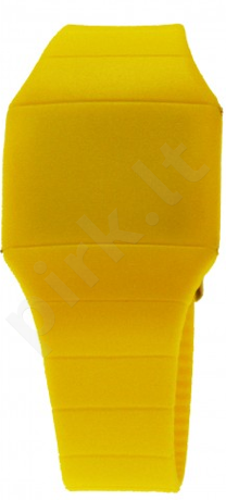 Laikrodis HACKER Led   - Yellow Banana