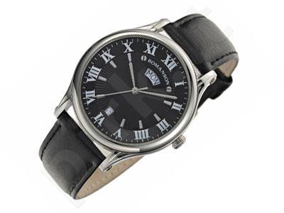 Romanson Classic TL0393MM1WA32W vyriškas laikrodis