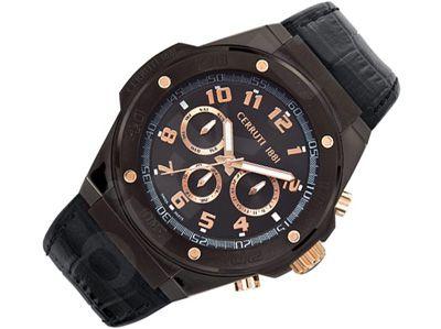 Cerruti 1881 Roma Sportiva CRA040D222H vyriškas laikrodis