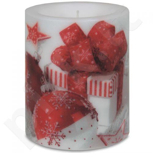 Žvakė Snowy Baubles 106745