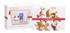 Clarins Multi-Active, rinkinys dieninis kremas moterims, (Day Care 50 ml + Night Care 15 ml + Skin Balm Beauty Flash 15 ml + kosmetika krepšys)