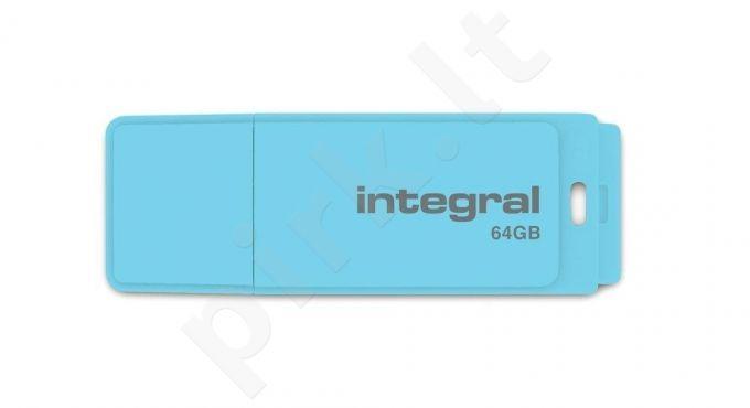 Atmintukas Integral Pastel 64GB, Blue Sky