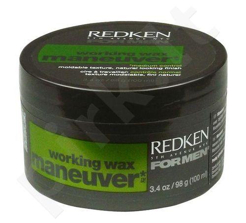 Redken For Men Working Wax Maneuver, kosmetika vyrams, 98g