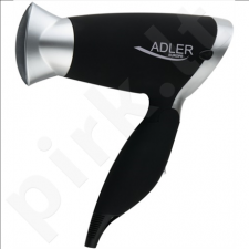Adler AD 2219 Hair dryer, 1250W, 2 speed settings, 3 temperature settings,