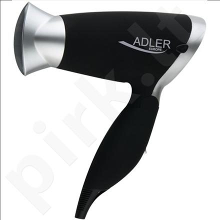 Adler AD 2219 Hair dryer, 1250W, 2 speed settings, 3 temperature settings,