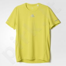 Marškinėliai bėgimui  Adidas Sequencials Climalite Running M AX7532