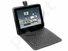 Dėklas Tracer 7'' Plastic +  micro USB klaviatūra
