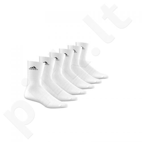 Kojinės Adidas 3 Stripes Performance CR HC 6 poros AA2294