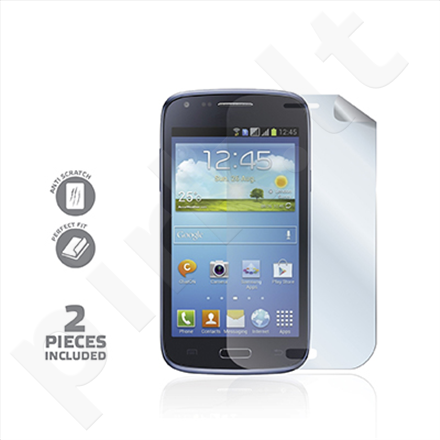 Celly Screen Protector for Galaxy Core / 2 pcs glossy