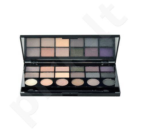 Makeup Revolution London Hard Day akių šešėliai Palette, kosmetika moterims, 13g