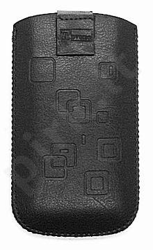 17 MAGNET SQUARE universalus dėklas N302 Telemax juodas