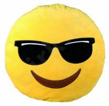 """Pliušinė pagalvė """"Emocija: akiniai"""" (50cm)"""