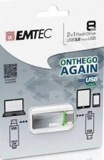 Atmintukas Emtec S220 8GB, USB3.0/micro USB |OTG |Android|Windows Phone|