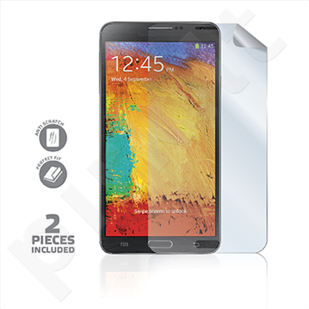 Celly Screen Protector for Galaxy Note 3 / 2 pcs glossy