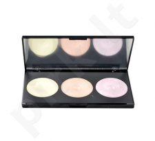 Makeup Revolution London Highlight pudra Palette, kosmetika moterims, 15g