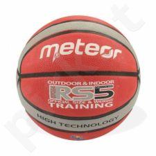Krepšinio kamuolys Meteor treniruotėms RS5 07034