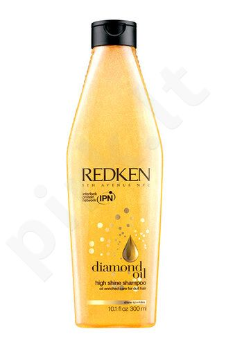 Redken Diamond Oil High Shine šampūnas, kosmetika moterims, 300ml