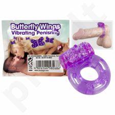 Vibruojantis penio žiedas Butterfly