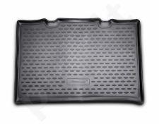 Guminis bagažinės kilimėlis VW up! 2011-> (upper boot) black /N41031