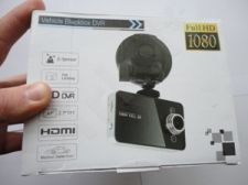 Videoregistratorius FULL HD DVR 1080G 32GB su G sensoriumi