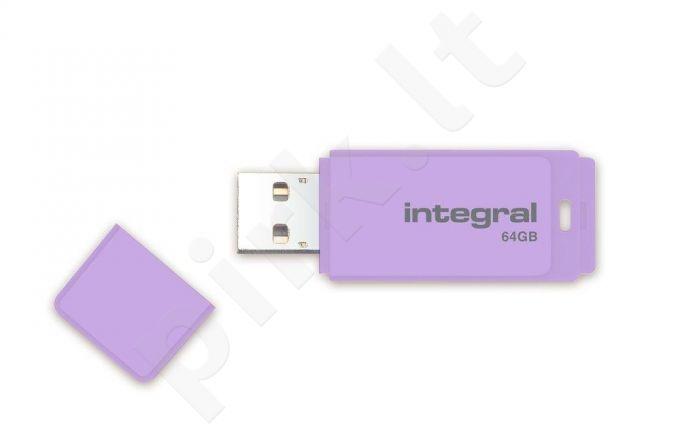 Atmintukas Integral Pastel 64GB, Lavender Haze