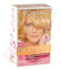 L´Oréal Paris Excellence Creme, plaukų dažai moterims, 1pc, (9 Natural Light Blonde)
