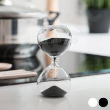 Stiklinis smėlio laikrodis (8 minutės)