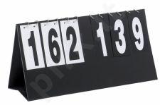 Varžybinė lenta 58x30cm, 0-199 did. skaičiai