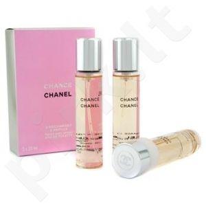 Chanel Chance Eau Tendre, tualetinis vanduo (EDT) moterims, 3x20 ml