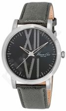 Laikrodis KENNETH COLE - ELEGANCE SUNRAY ANTRACITE DIAL WITH TEXTURE S /S vyriškas oda STRAP