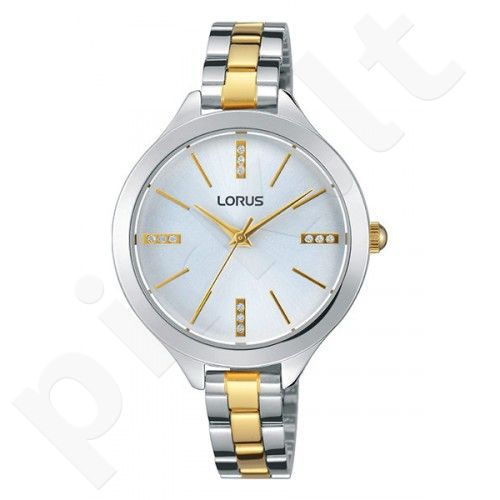 Laikrodis LORUS  STAINLESS STEEL - kvarcinis - 34x34 mm - 3 ATM